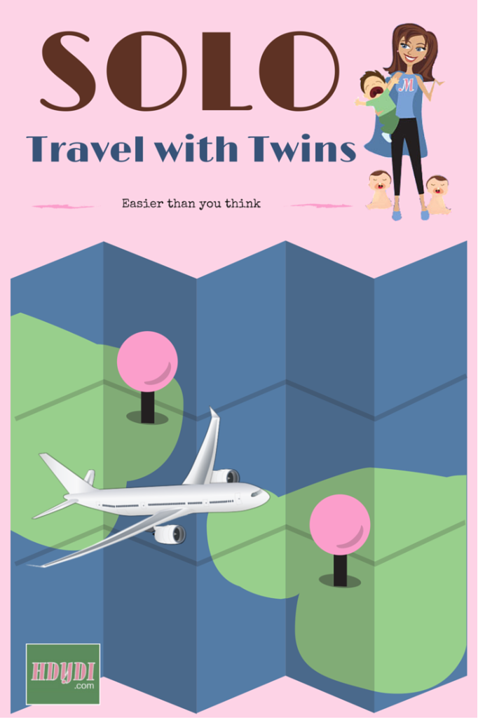 Travelling solo with twin toddlers? It's easier than you might think.