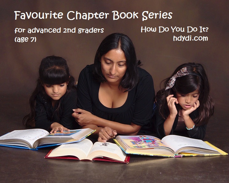 Chapter books for advanced 2nd graders from hdydi.com