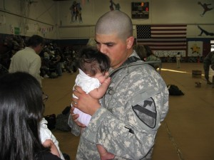 My ex-husband deployed to Iraq when our babies were 5 months old.