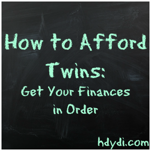 get your finances in order