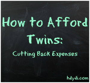 cutting back expenses