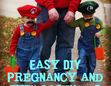 Twin DIY Halloween Costumes