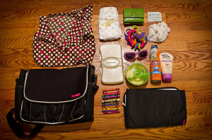 diaper bag and contents from hdydi.com