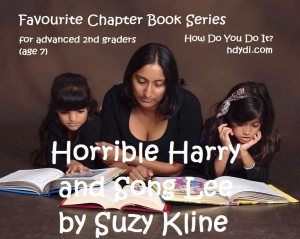 A review of Suzy Kline's Horrible Harry and Song Lee books from hdydi.com