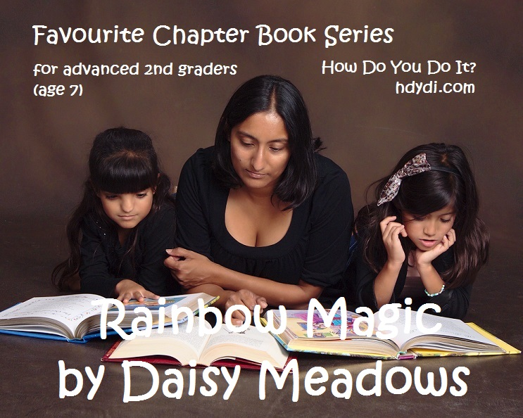 A review of Daisy Meadows' Rainbow Magic books from hdydi.com