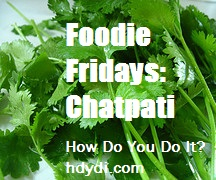 Foodie Fridays: Chatpati recipe from hdydi.com