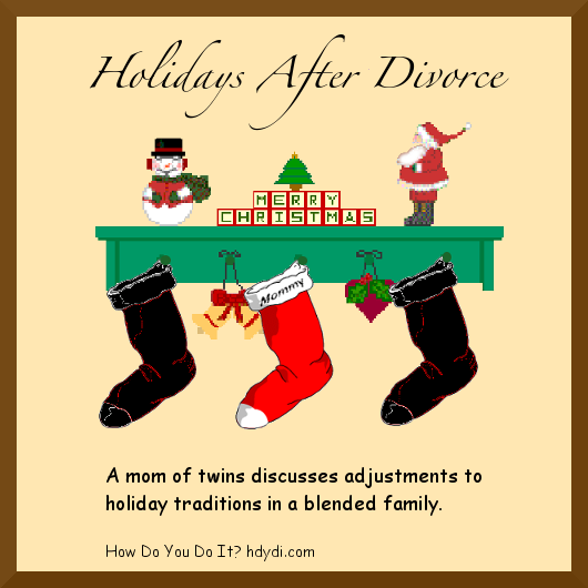 How one family tweaks family traditions in light of divorce and custody issues.