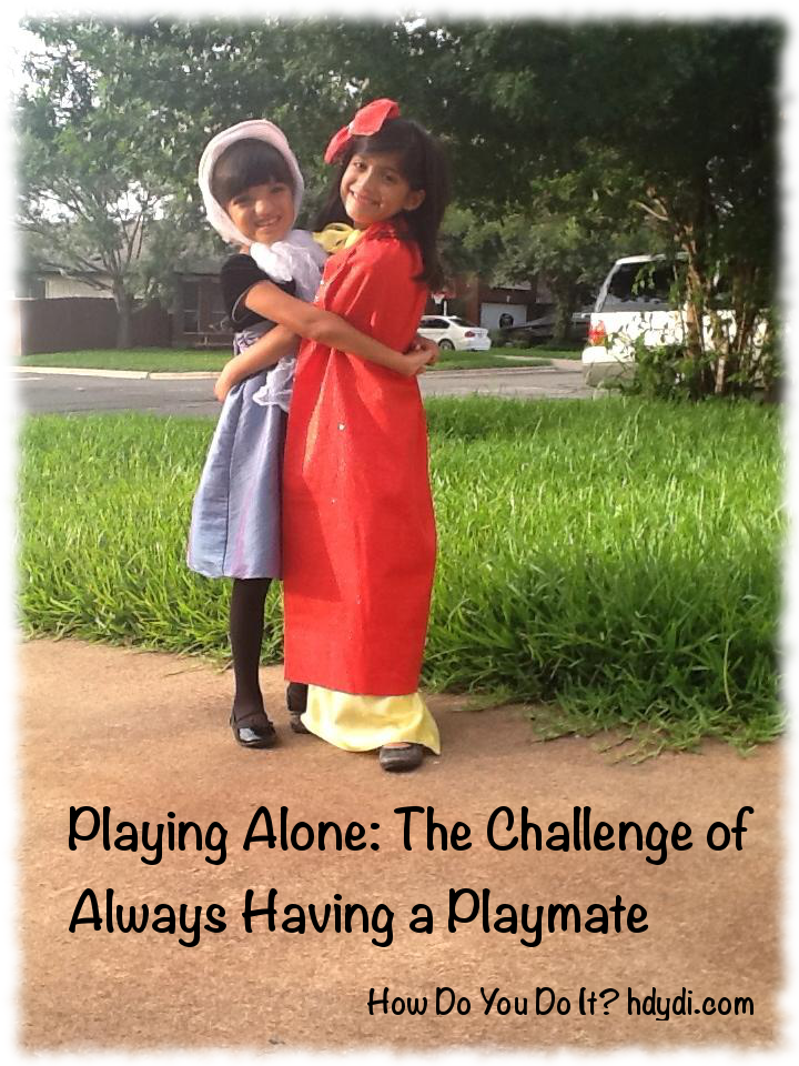 Playing Alone: The challenge of always having a playmate from http://hdydi.com