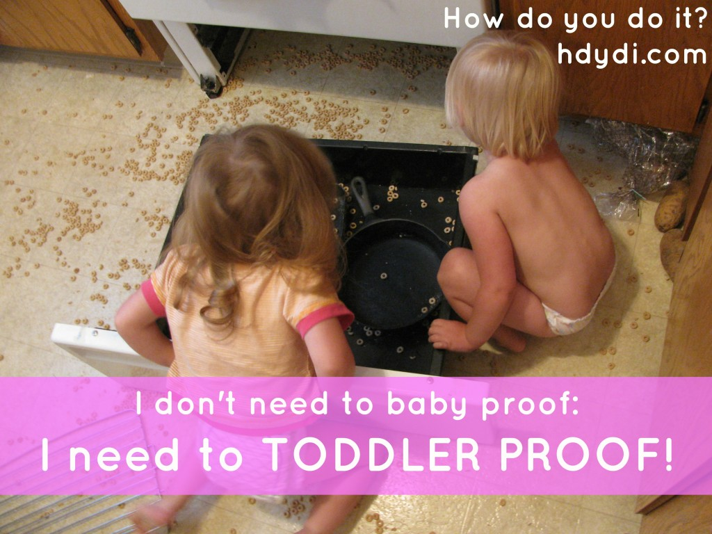 Toddler Thursdays: Toddler Proof your home! hdydi.com