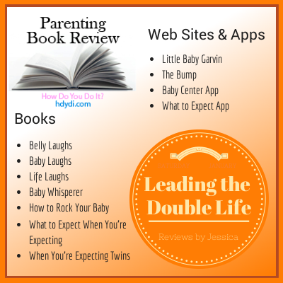 Jessica shares her favorite parenting books, apps and websites