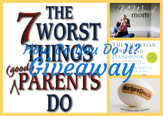 Win this package of great parenting books at hdydi.com