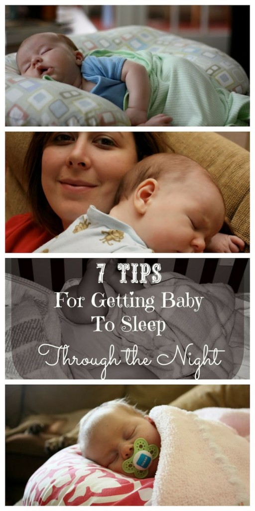 How to get baby to sleep through the night