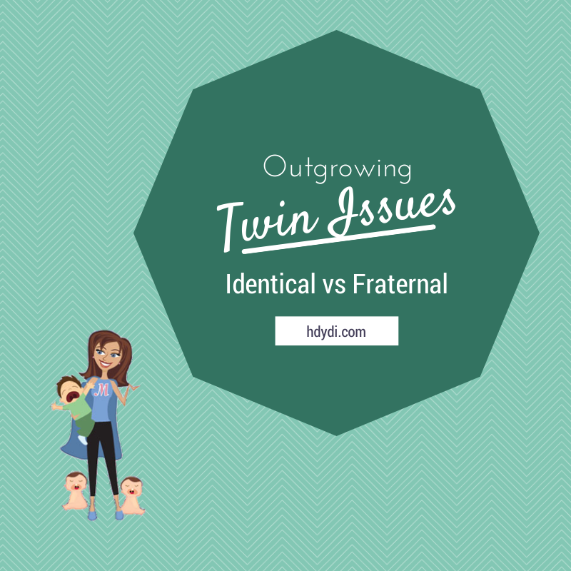 Do fraternal twins outgrow twin issues that stick around for identical twins?