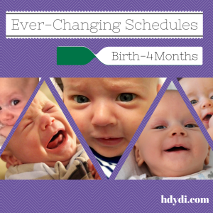 Ever-Changing Schedules (1)