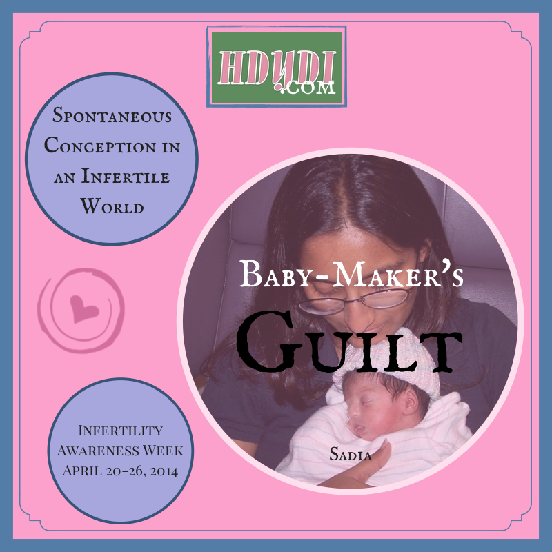 With so many infertile women around, the guilt of being able to conceive easily is very real.