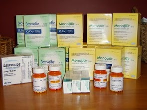Medication for a single IVF cycle.
