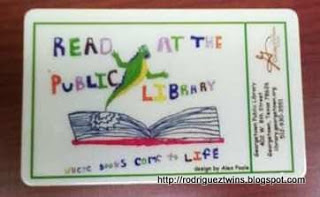 This library offers child-specific library accounts and cards. Great way to encourage a healthy library habit!