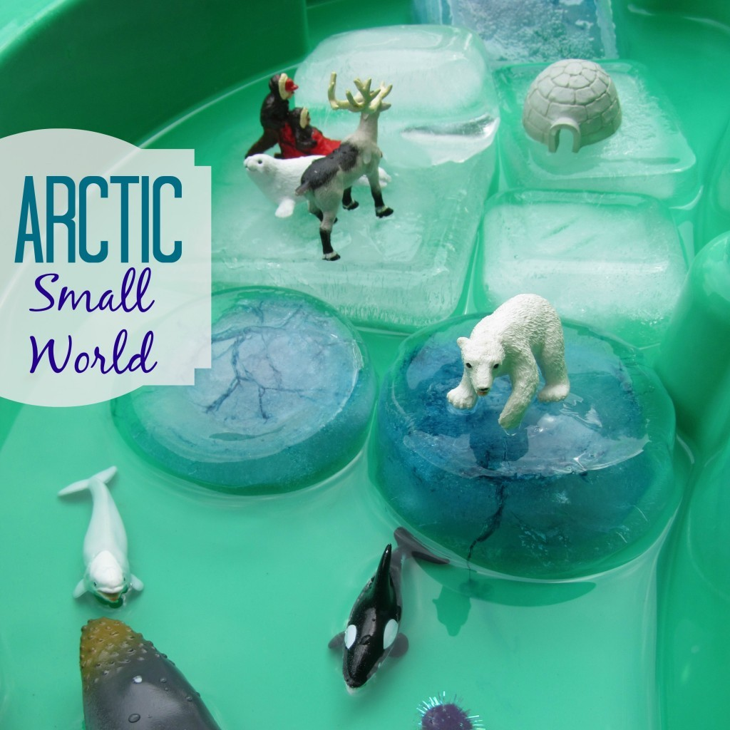Arctic Small World Play, from My Big Fat Happy Life