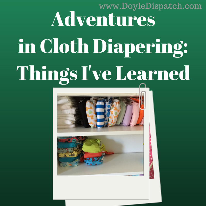 Parenting Link Up Pick: Practical pointers for those already cloth diapering and those considering it. Nothing beats experience when it comes to figuring out what works!