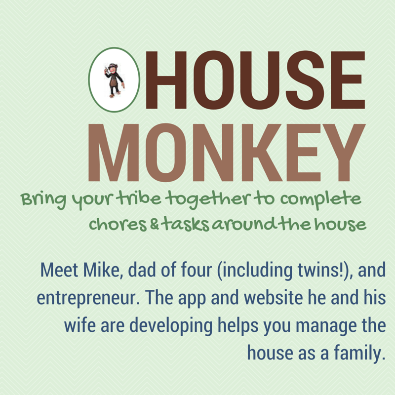 Learn how Mike, a dad of four, is working with his wife to turn an idea into a business.