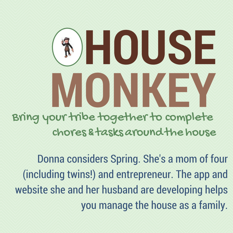 In this springtime update, entrepreneur Donna talks about the  constant give and take of raising a family, nurturing a marriage, and running a business.