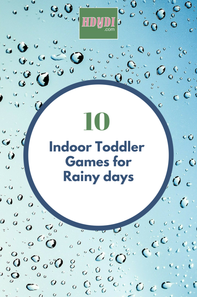 It's so hard to keep toddlers occupied when they're cooped up! 10 great ideas for indoor fun.