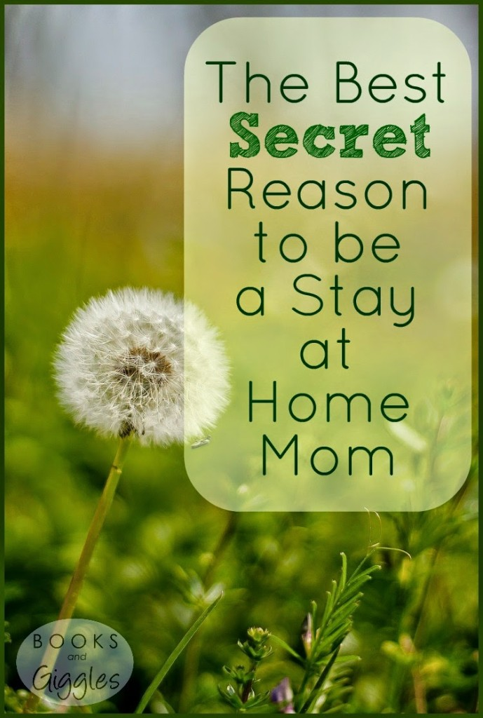 The Best Secret Reason to be a Stay-At-Home Mom