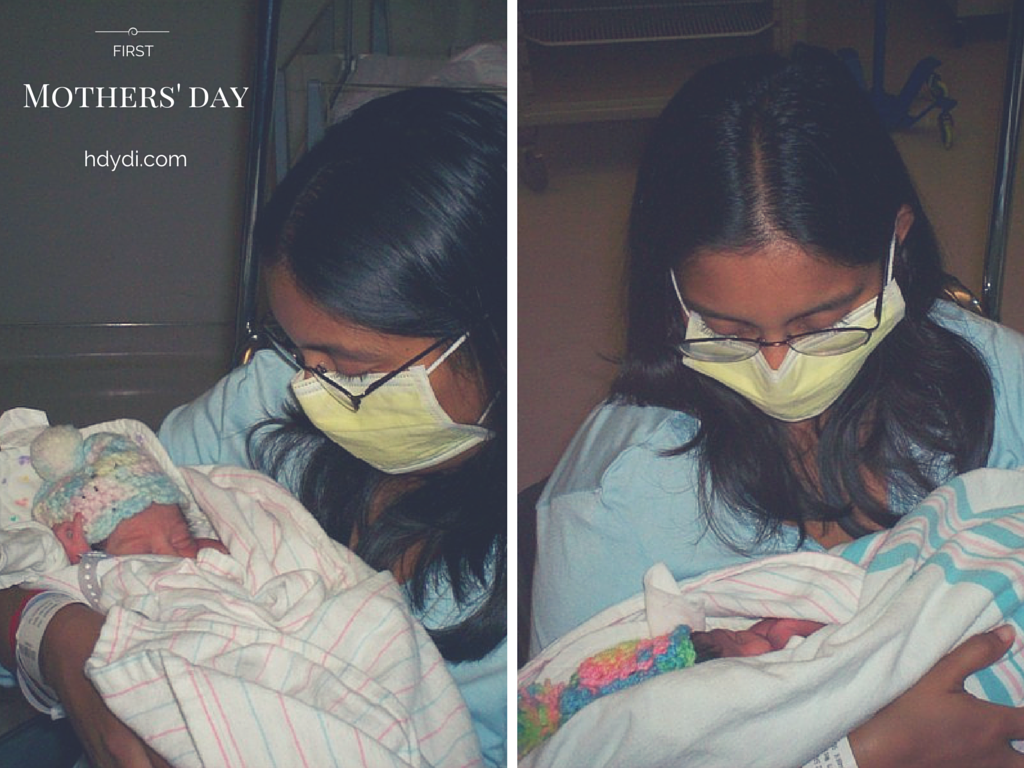 Sadia with her newborns in the NICU. You'd never guess 9 years later that they had a rough start at 33 weeks gestation.
