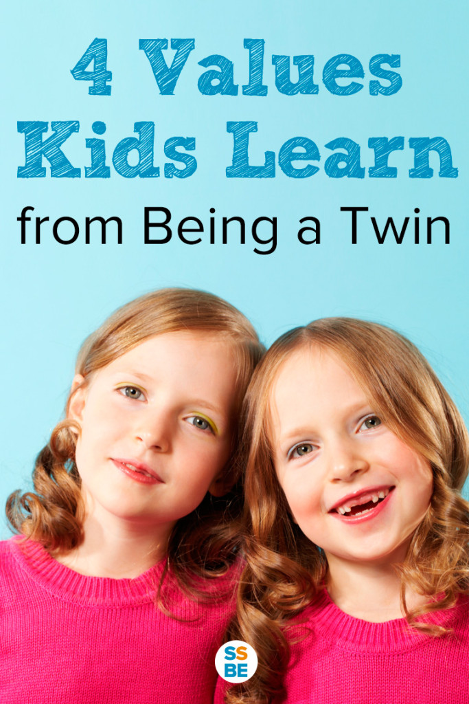 Life as a twin teaches children important values that will serve them throughout life. Guest post at hdydi.com from Nina of Sleeping Should Be Easy