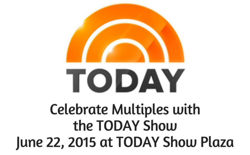 Celebrate Multiples with the TODAY Show on June 22
