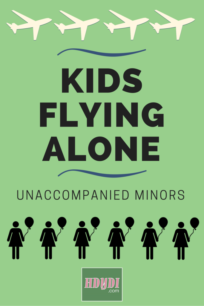 One mother's experience putting her children on a plane, unaccompanied.
