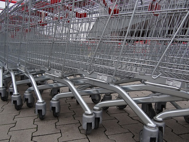 Shopping carts can pose a safety risk for young children. Educate yourself.