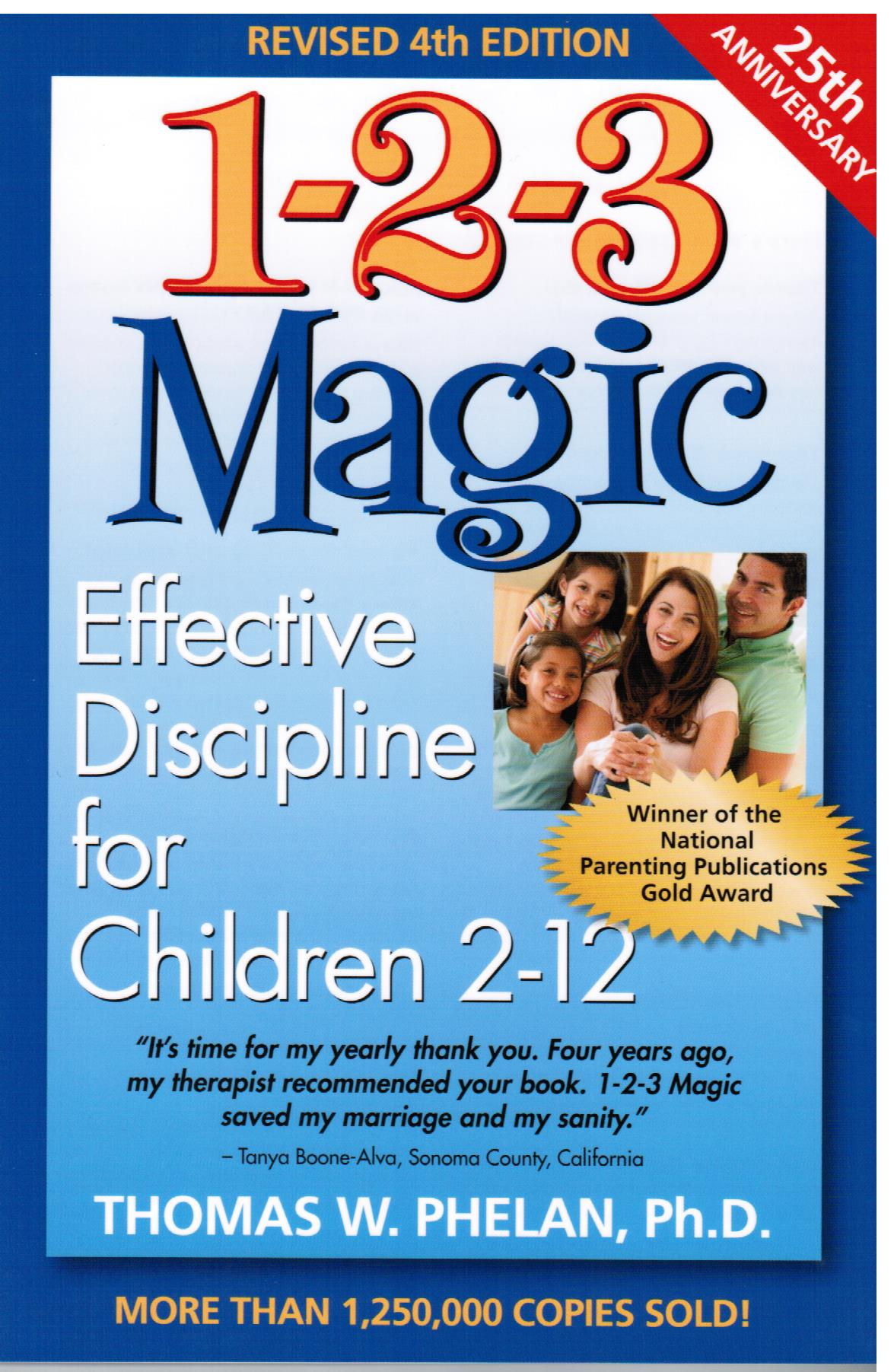 An overview of the 1-2-3 Magic approach to disciplining your kids.