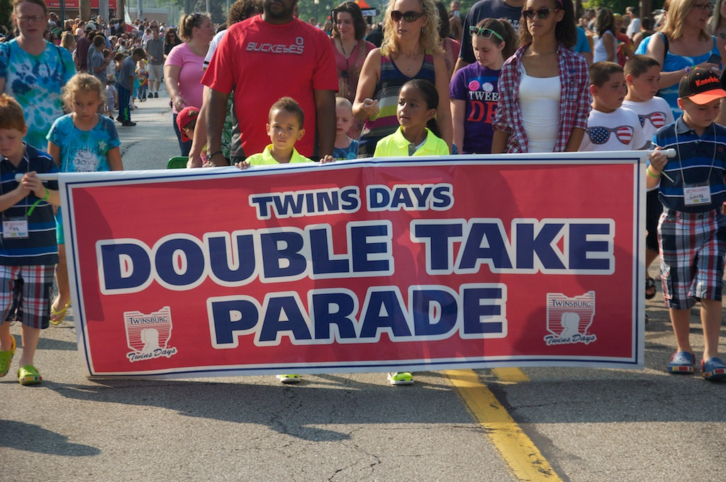 Double Take Parade, Twins Days Festival, Twinsburg, OH