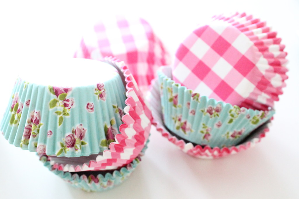 These paper cupcake liners are so pretty... but the reusable kind are more adaptable