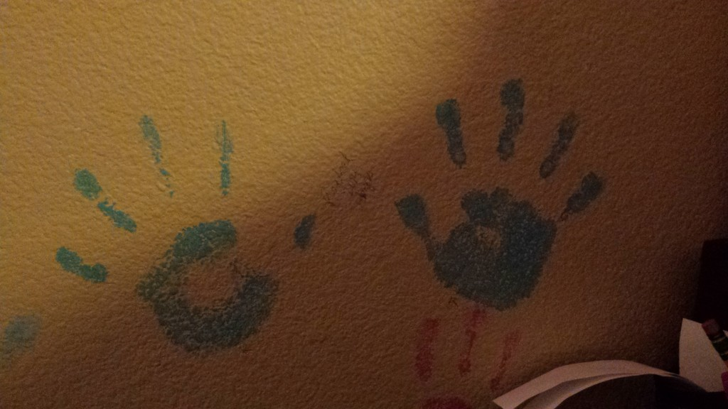 Handprints make for great keepsakes