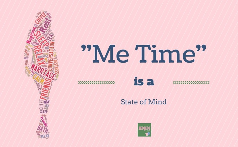 "Imagining ""Me Time"" in the Midst of Motherhood"
