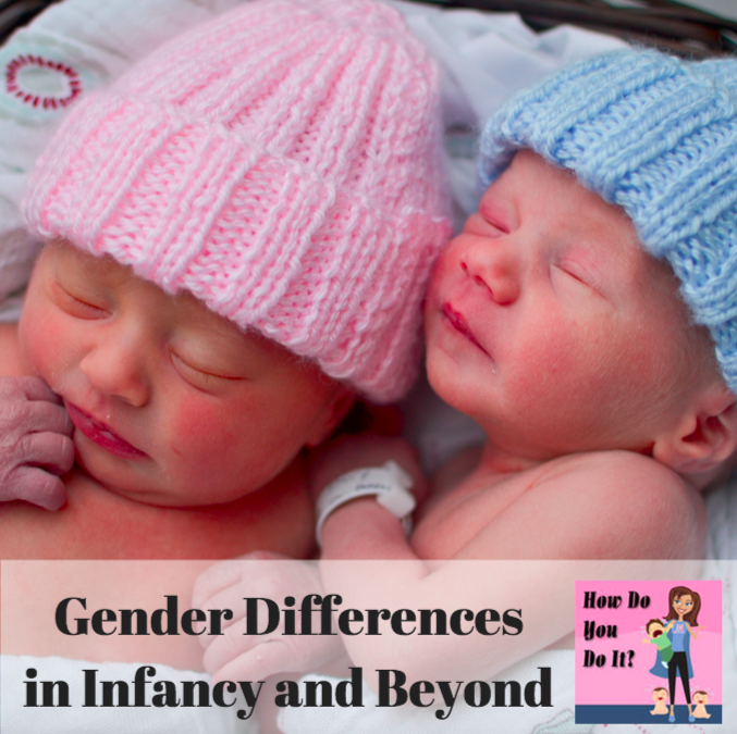 Gender Differences in Infancy and Beyond