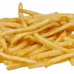 French fries = chips