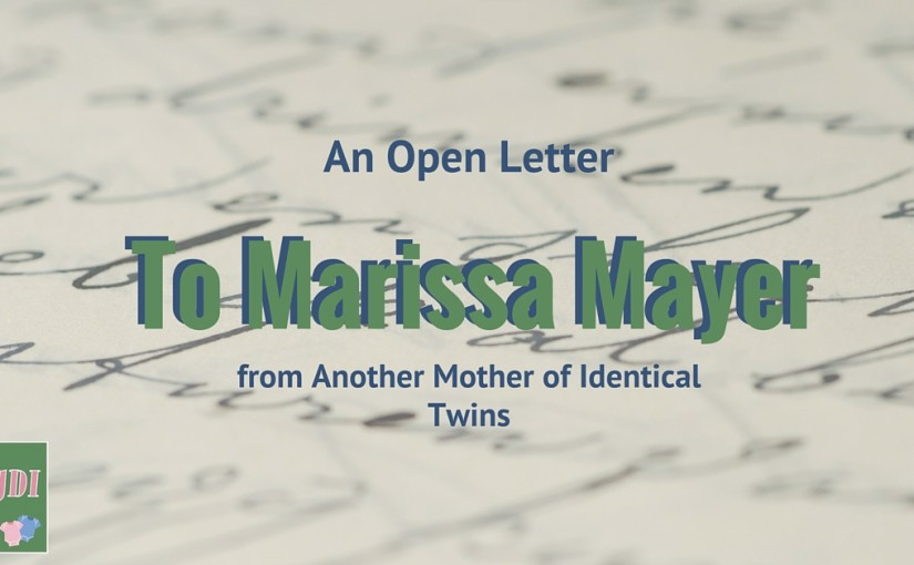 An Open Letter to Marissa Mayer
