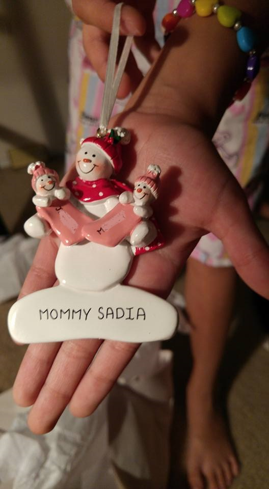 An ornament for a single mother of twins? Oh, sure, Personalized Ornaments for You has even this mom covered!