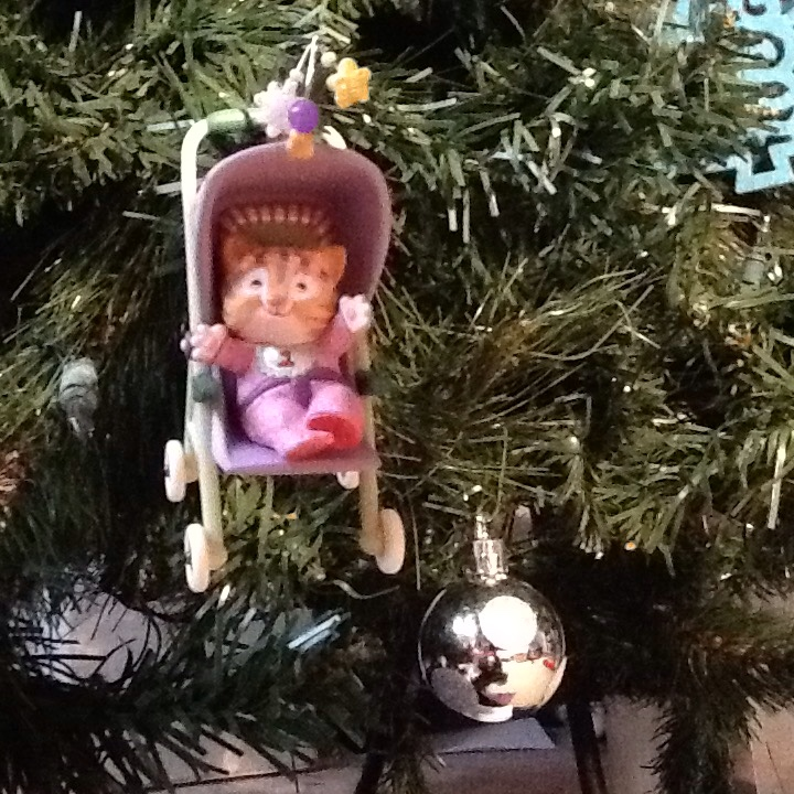 This ornament commemorates baby's (or in the twins' case, babies'!) first Christmas.