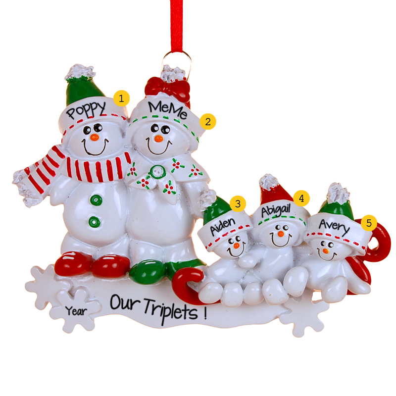 #POFY even has ornaments for triplet families!