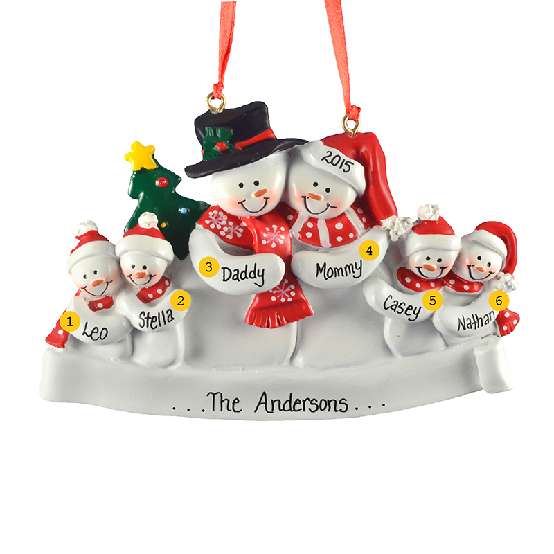 A perfect ornament for the family of quadruplets that has everything. #POFY
