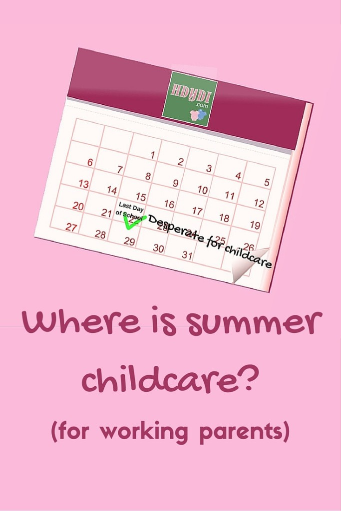 Childcare for elementary schoolers when school lets out for the summer can be a nightmare for the working parent.