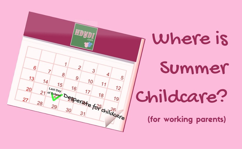 The Summer Childcare Quandary