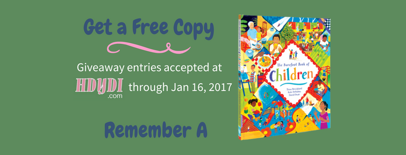 (Giveaway) Honor A with The Barefoot Book of Children