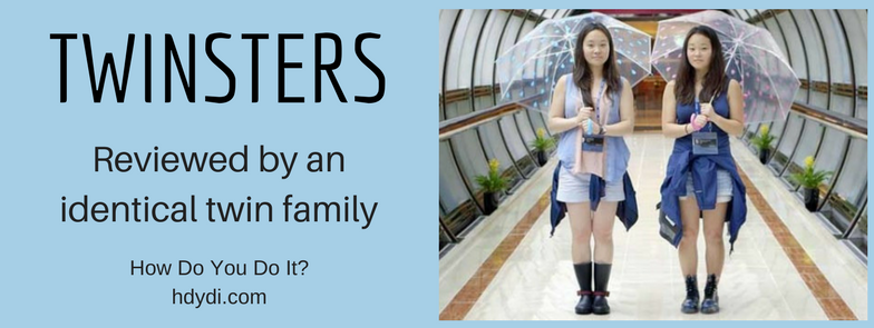 Twinsters, reviewed by an identical twin family